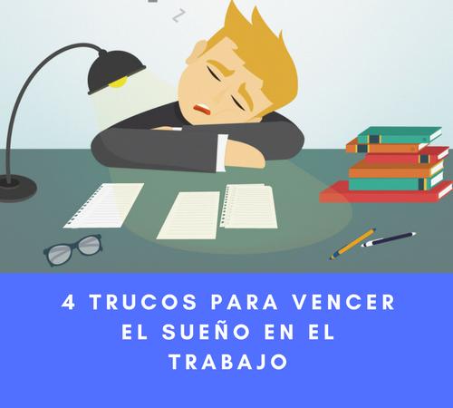 4 trucos para combatir el sueño en el trabajo