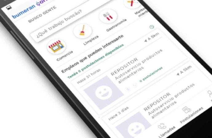 ¿Cómo encontrar trabajo con la App de Bumeran?
